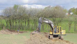 Udgravning Nær Viborgvej