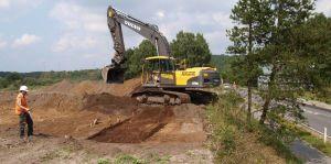 Udgravningssituation