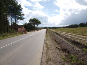 Cykelsti på vej mellem Ans og Grønbæk